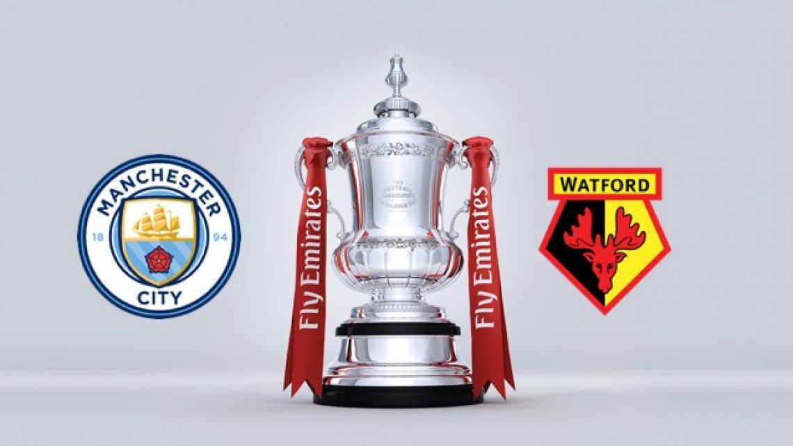 Manchester City|Watford ~ 18h00 • FA Cup ~ Finale